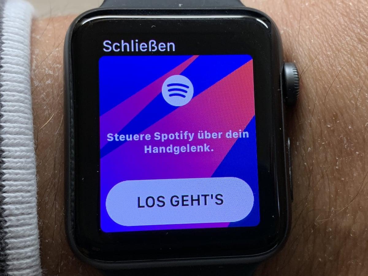 Ausprobiert Spotify Für Die Apple Watch Ist Da Teltarifde News
