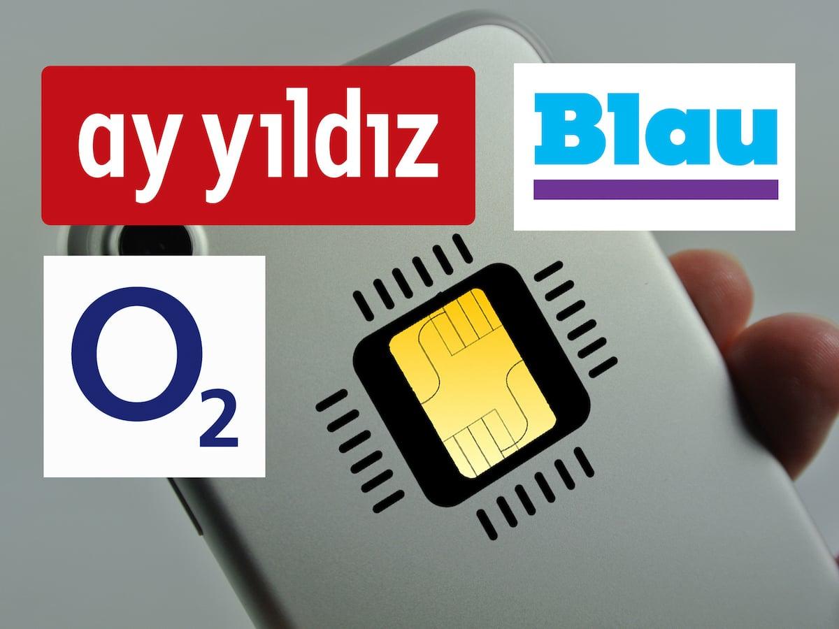 Blau Sim Karte Freischalten.Ab Heute Esim Bei O2 Blau Und Ay Yildiz Verfügbar Teltarif De News