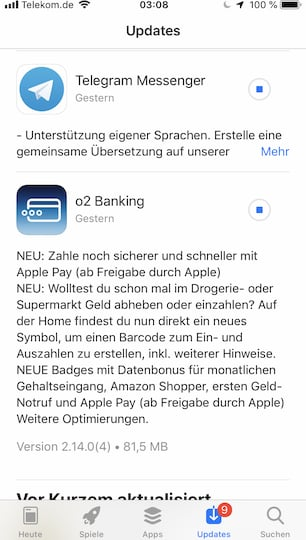 Test Mit Apple Pay Bei O2 Banking N26 Amex Comdirect Teltarif