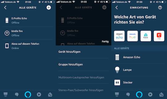 Amazon Echo Lautsprecher einrichten: So wirds gemacht - teltarif