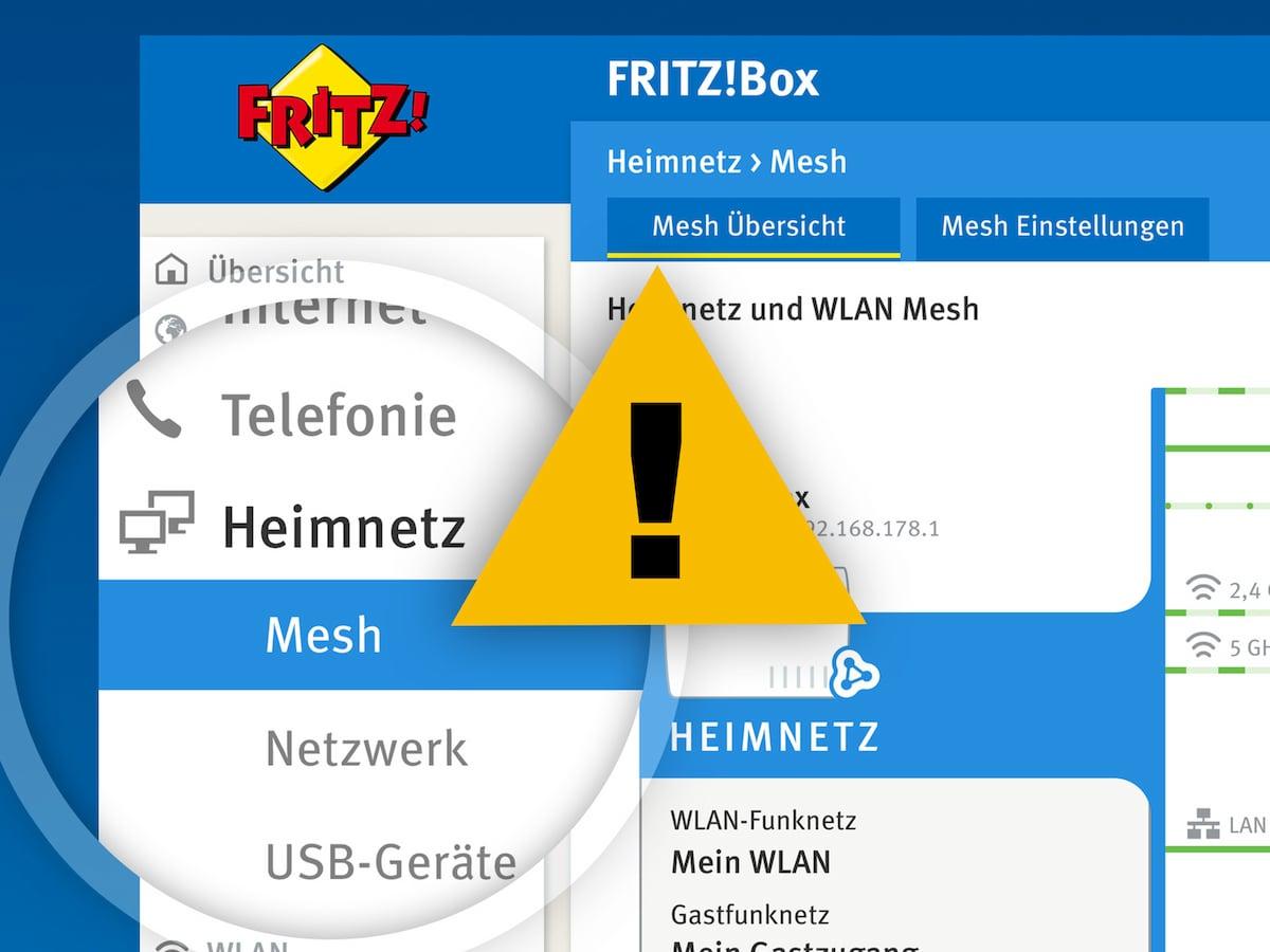 Wlan Mesh Von Avm Konkurrent Empfiehlt Downgrade Teltarif De News