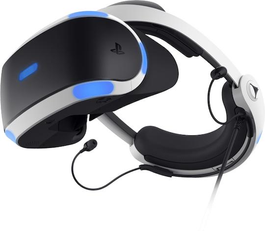 Sony PlayStation VR Brille Headset Bundle+benötigte V2 KameraSehr Gut