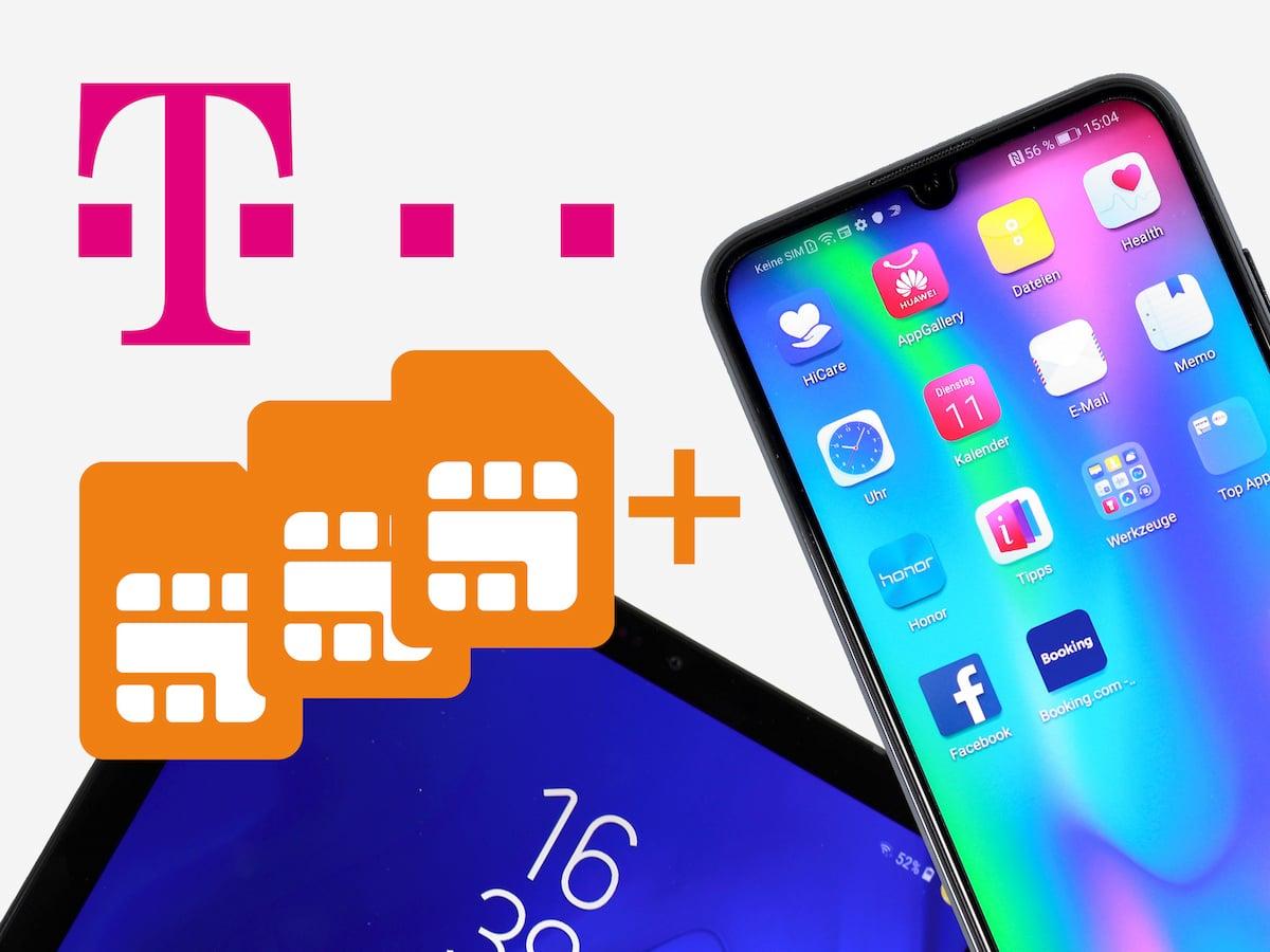 Telekom Karte Aktivieren.Telekom Startet Multisim 3 Bis Zu Zehn Extra Sim Karten Teltarif