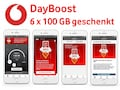 Vodafone startet DayBoost-Aktion