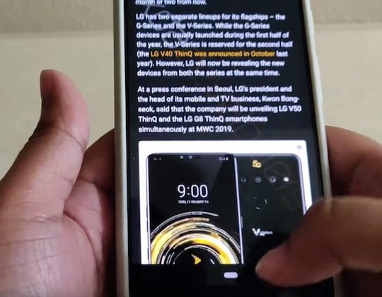 Android Gestensteuerung