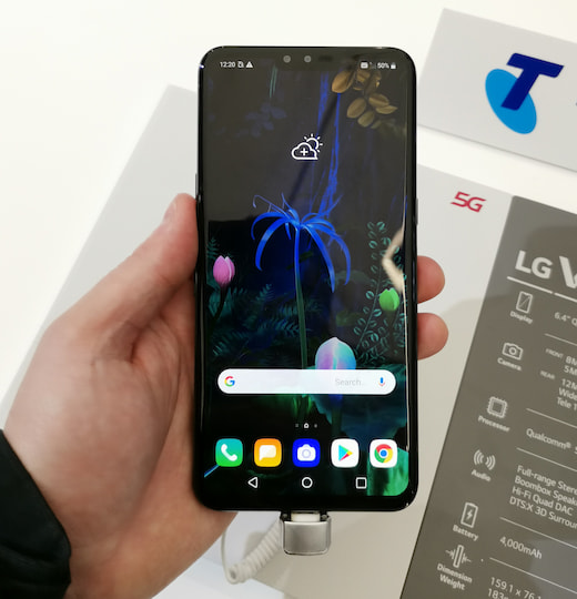 Das LG V50 ThinQ mit 6,4 Zoll-OLED-Display