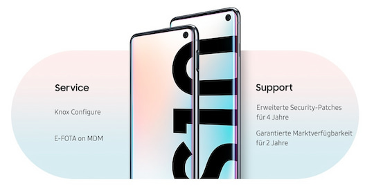 Das Galaxy S10 in der Enterprise Edition
