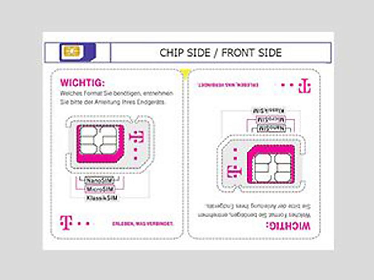 Sim Karte Sperren Telekom.Halbieren Ist Machbar Telekom Macht Die Sim Karte Kleiner