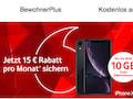 Vodafone wirbt für BewohnerPlus-Aktionstarif