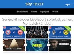 Probleme bei Sky Ticket