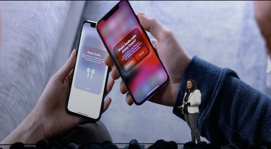 Musik-Sharing in iOS 13