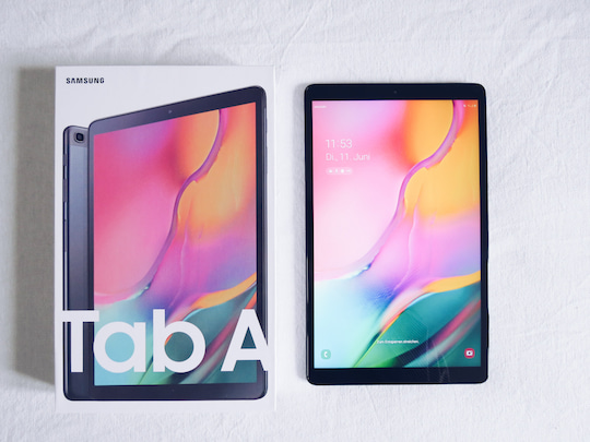 Galaxy Tab A 10.1 2019 im Test
