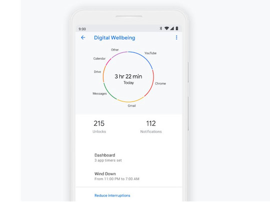 """Digital Wellbeing"" in Android"
