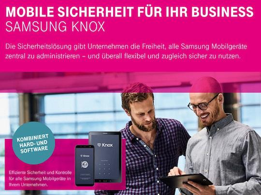 Telekom & Samsung: Business-Service für Galaxy-Modelle