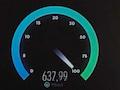 5G-Speedtest unter realen Bedingungen: Test 1 ergab 638 MBit/s mit 15 Millisekunden Ping