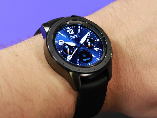 Samsung Galaxy Watch im Wrist-on