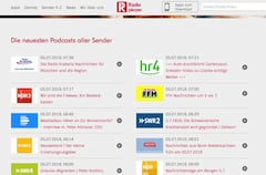 Podcast-Portal von Radioplayer.de