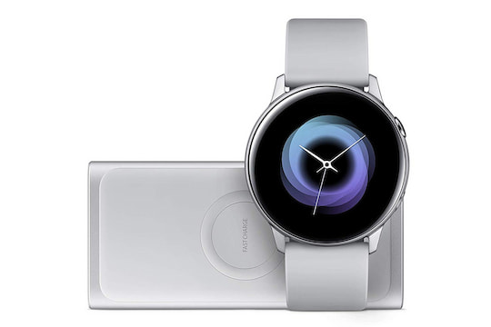 Samsung Galaxy Watch Active mit induktiver Powerbank