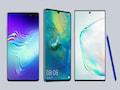 Galaxy S10 5G, Huawei Mate 20X 5G und das Note 10+ 5G