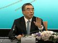 Huawei Verwaltungsratschef Liang Hua bei der heutigen Bilanz-Konferenz