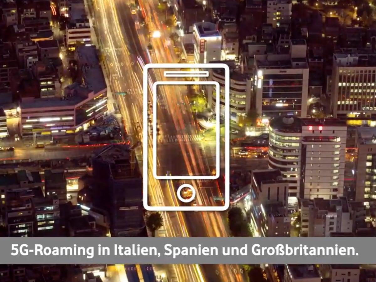 Vodafone: Erster deutscher Netzbetreiber mit 5G-Roaming