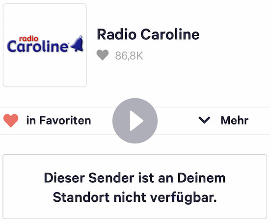 Komplett-Ausfall bei TuneIn Radio: Mögliche Alternativen