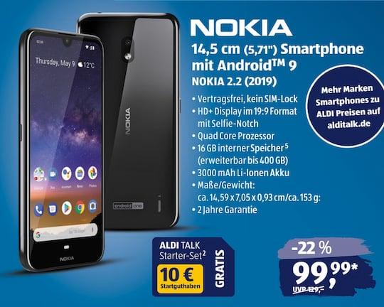 Aldi Nord Süd Karte.Ab 29 August Nokia 2 2 Und Lenovo Tab P10 Bei Aldi Teltarif De News