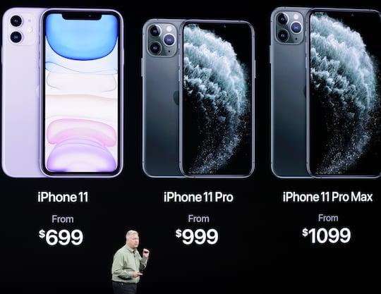 Iphones Vergleichen
