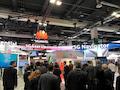 Über 1600 Fachbesucher beim 10. mobilen Breitband-Forum in Zürich (Schweiz), das vom Netzwerkausrüster Huawei veranstaltet wird.