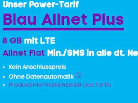 Blau Allnet Plus