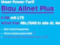 Der Blau-Tarif Allnet Flat Plus ist aktuell rabattiert