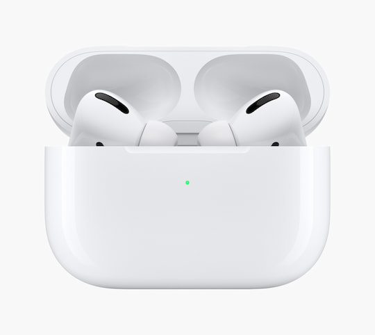 Die AirPods Pro im Ladecase