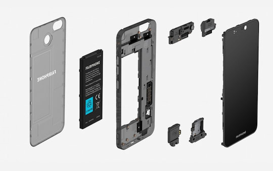 Komponenten des Fairphone 3