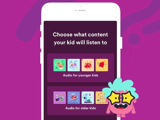 Spotify Player Kinder