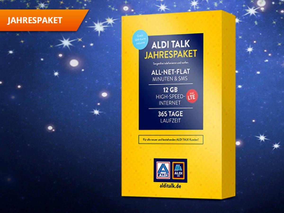 Aldi Talk Jahrespaket Das Kostet Weiteres Datenvolumen