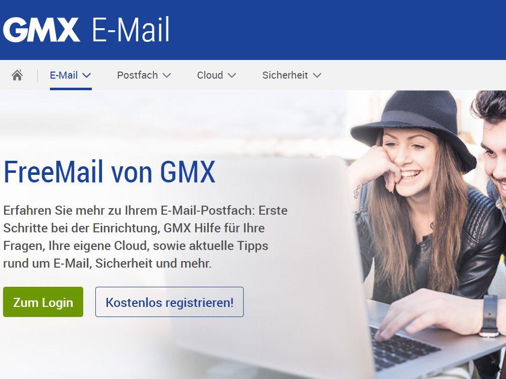 www.gmx.de postfach