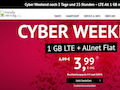 Cyber Weekend bei handyvertrag.de