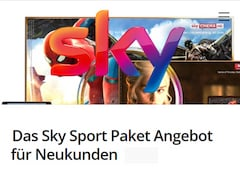 Sky-Aktion zum Black Friday