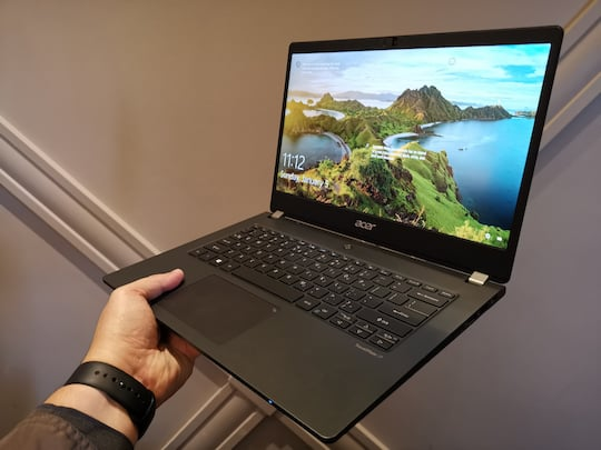 Acer TravelMate P6 im Hands-On