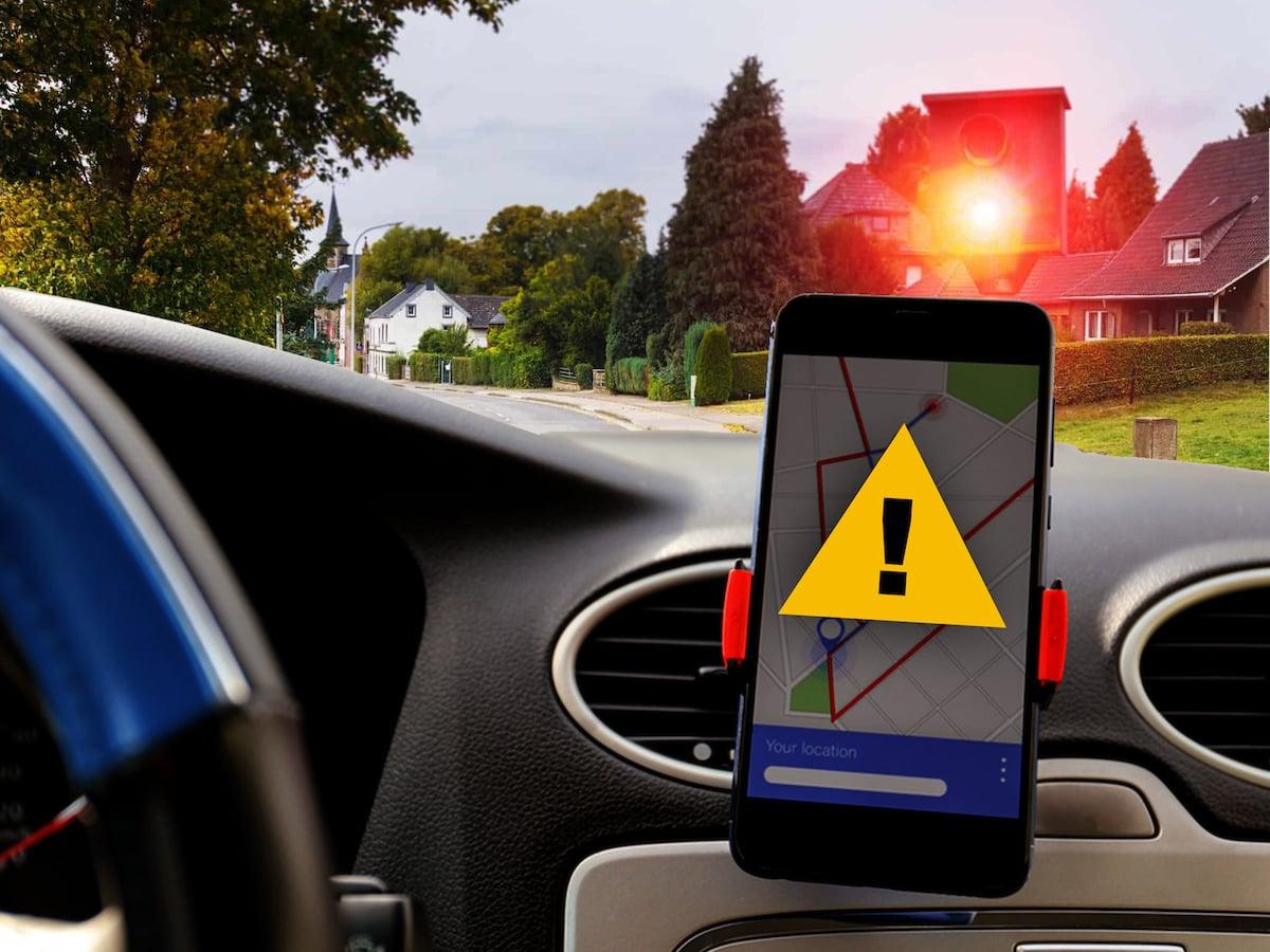 Blitzer-Apps im Auto: Das ändert sich an der Rechtslage