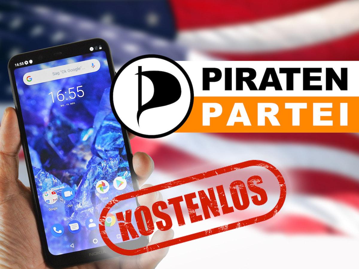 Kostenlos Telefonieren Piratenpartei Fordert Flatrate Teltarif