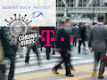 Die Telekom versorgt das Robert Koch Institut mit anonymisierten Bewegungsdaten, um mögliche die Ausbreitung des Coronavirus voraussagen zu können