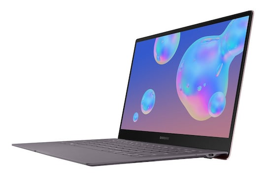 Das Galaxy Book S in voller Pracht