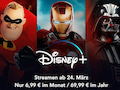 Disney+: Der Streaming-Dienst von Disney will morgen starten