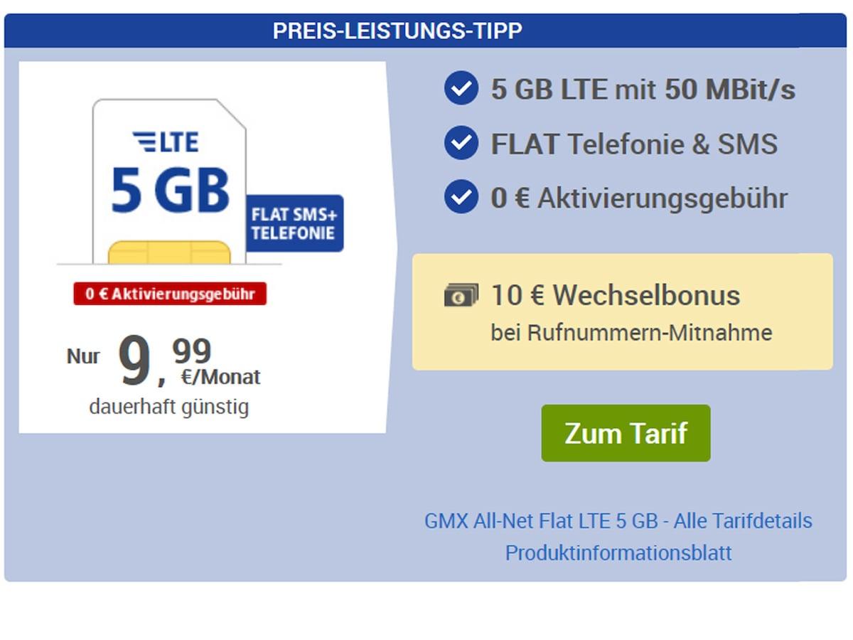 GMX & web.de Keine Anschlussgebühr   teltarif.de News