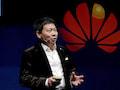 Weiß, wie man neue Produkte präsentiert: Richard Yu, CEO of Huawei Technologies Consumer Business Group