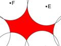 Funklöcher (schematisch)