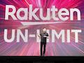 Der Chef von Rakuten Mobile, Mickey Mikitani, stellt sein Unternehmen vor.