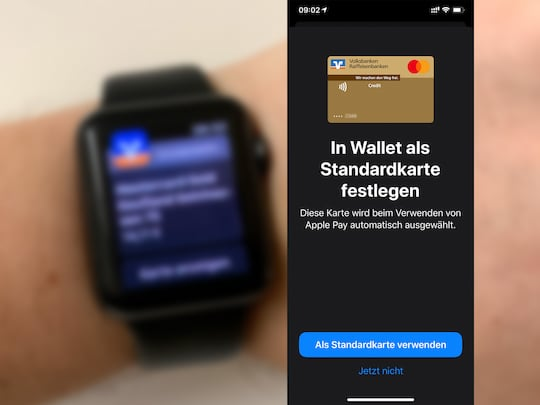 Apple Pay mit VR Bank im Test