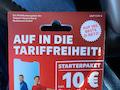 Die Vorderseite der Packung entspricht den Werbebildern. Das Startpaket kostet einmalig 9,99 Euro.